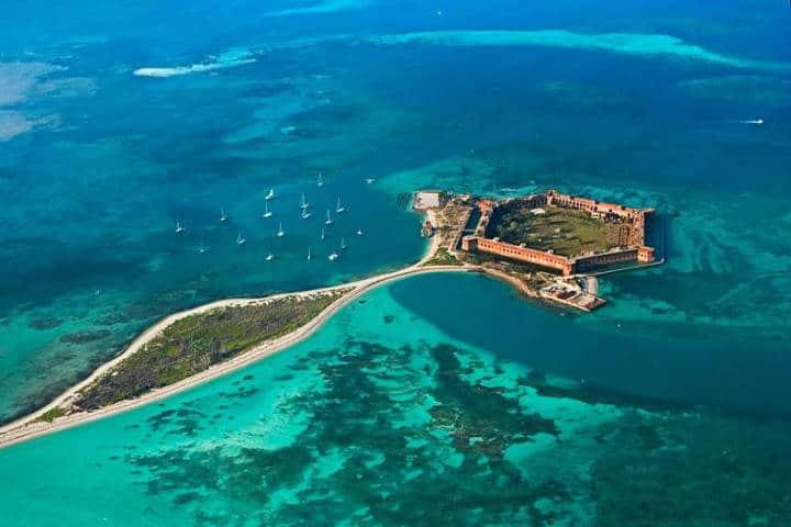 Dry Tortugas National Park en Florida. Imagen: Sinem Erol
