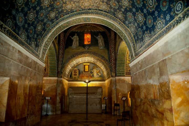 Gala Placidia. Foto Panorama d'Italia