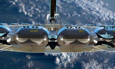 Hotel El Guardián Imperio en Rusia. Una nave espacial. Foto: Pinterest