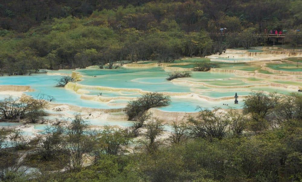 Huanglong Aguas Termales Foto. Pixibay