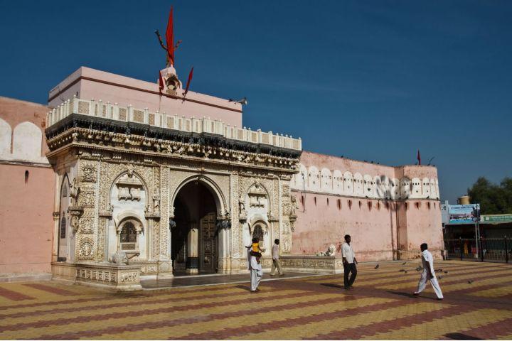India Mágica Foto: El templo de las ratas Karni Mata en la India