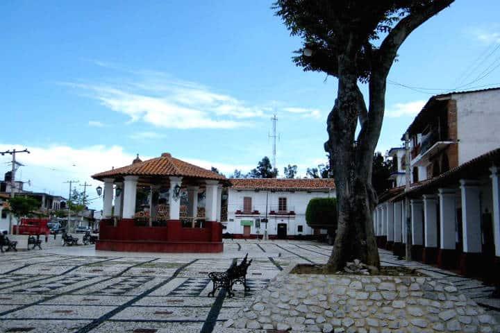 Kiosco.Foto Ixcateopan de Cuauhtémoc