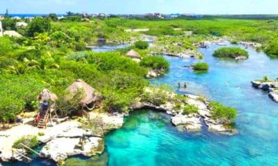 Laguna Yal-Kú en Riviera Maya. Imagen: Expert Vagabond