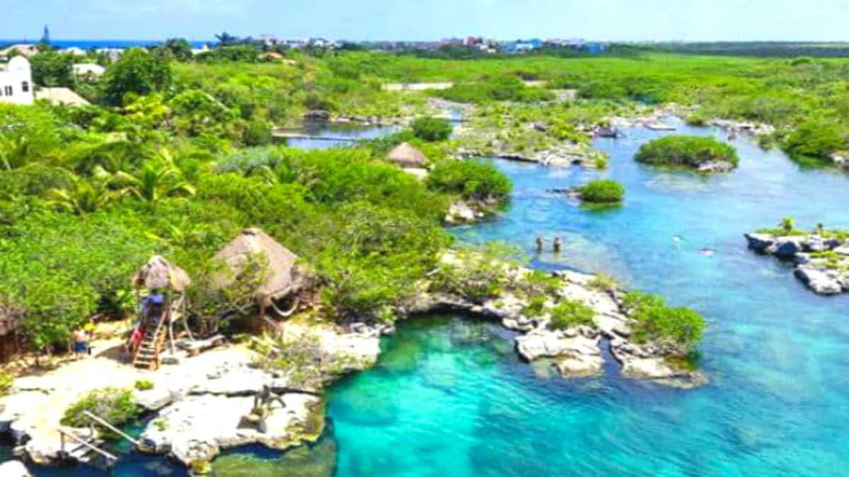 Laguna Yal-Kú en Riviera Maya. Portada. Imagen Expert Vagabond