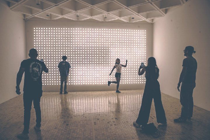 Máspormás Foto: Exposición Sunday en el museo Tamayo