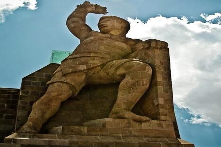 Monumento al Pípila. Foto Pinterest.