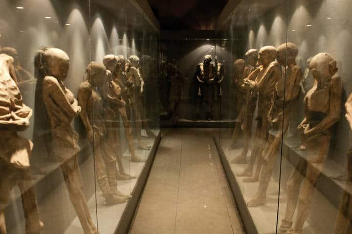 Museo de las momias. Foto Guanajuato México