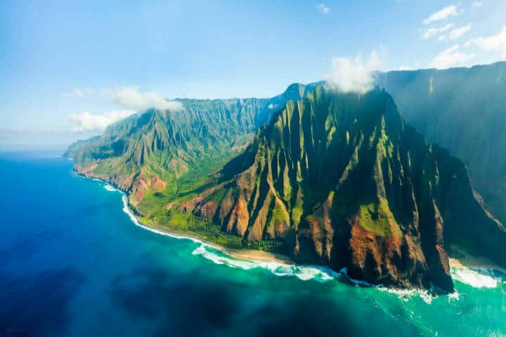 Na Pali Coast, Hawaii. Foto Dhilung Kirat
