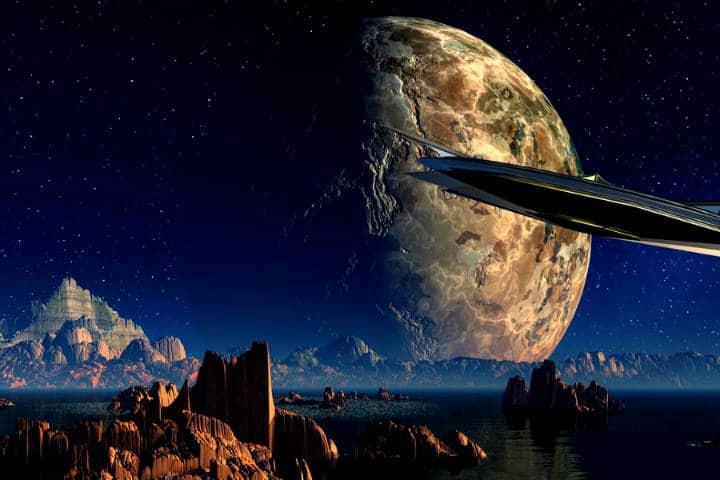 Nave Espacial Foto El souvenir
