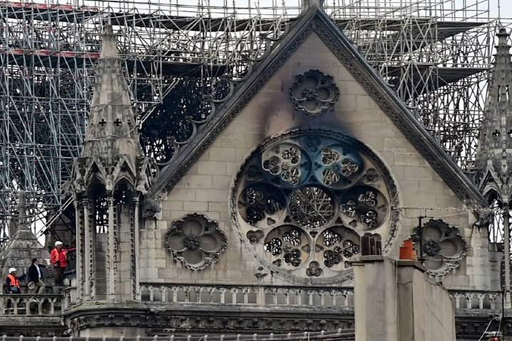 Incendio en Notre Dame .Foto Archivo