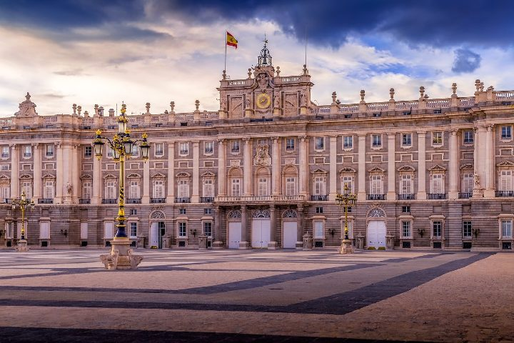 Palacio Real de Madrid. Foto Pixabay.