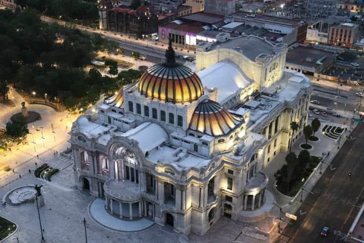 Palacio de Bellas Artes. Foto. Ezequiel Octaviano. 1