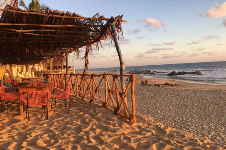 Palapa Pancho. Foto Playa Ventura Oficial