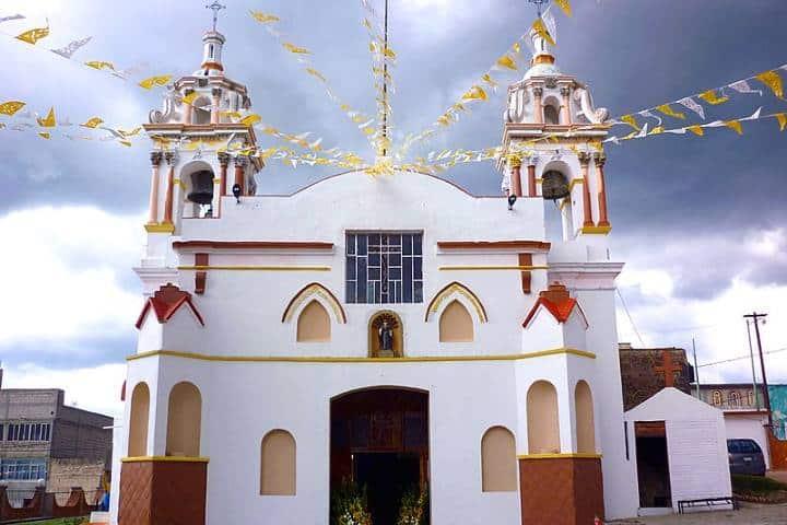 Parroquia San Nicolas Tolentino Terrenate. Foto