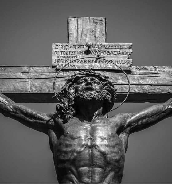 Portada. El Cristo que llora miel en España. Foto. Pinterest