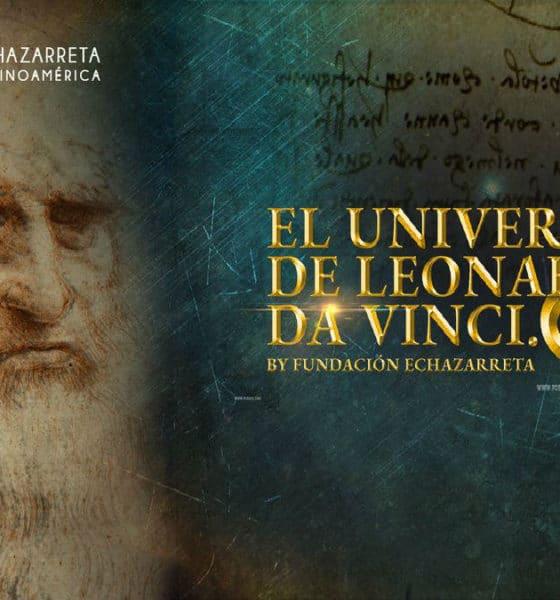 Portada. Exposición el Universo de Leonardo Da Vinci en México. Foto. Twitter