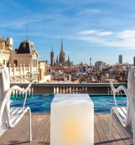 Portada. Rooftop Bar de Batcelona. Foto. Ohla Boutique Hotels