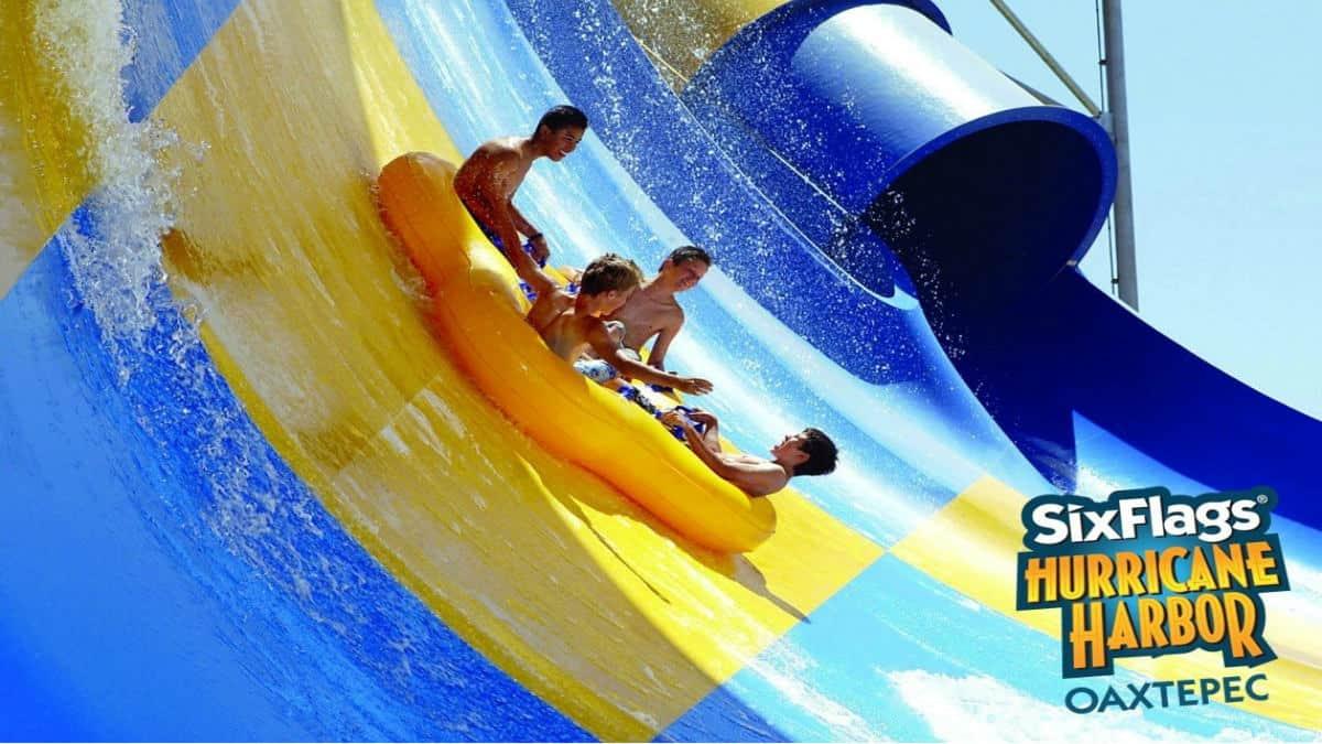 Portada. Six Flags Hurricane Harbor. Foto. The Coaster Zone