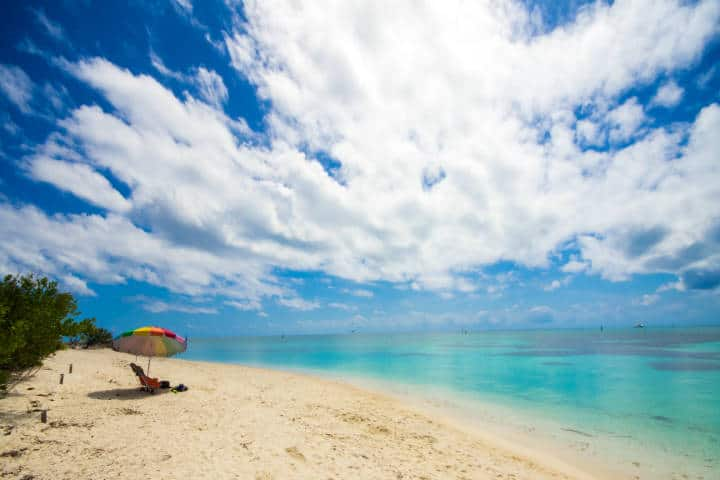 Private beach. Foto Thomas
