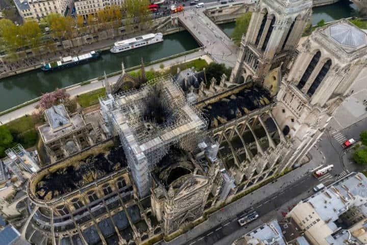 Reconstrucción de Notre Dame Francia Foto La Voz
