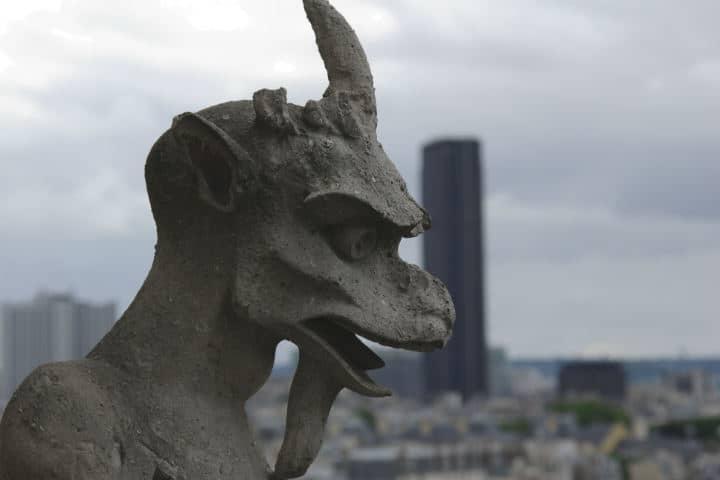 Reconstrucción de Notre Dame Francia Foto Philippe Bardalle hilippe Bardalle