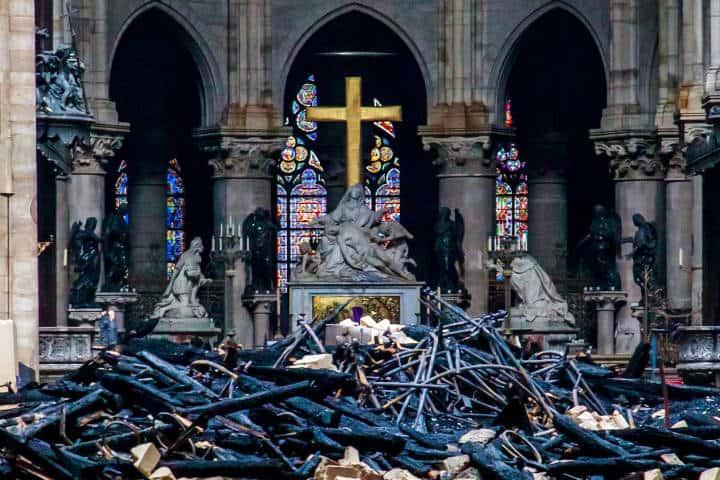 Reconstrucción de Notre Dame Francia Foto RTVE