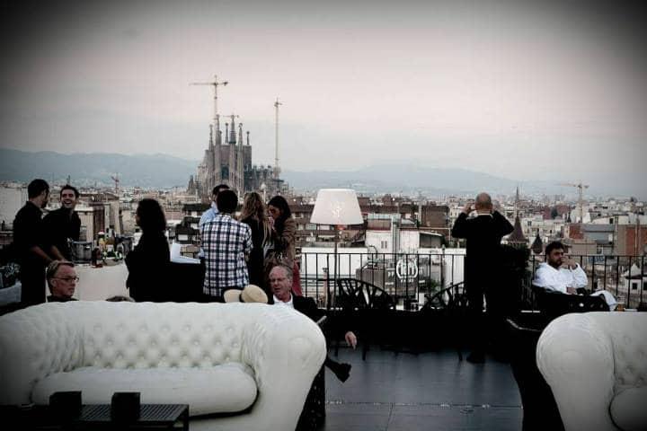 Roftop Bars de Barcelona Foto Hotel La Dolce Vitae