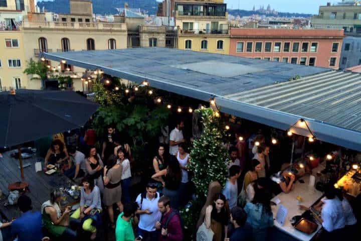 Roftop Bars de Barcelona Foto Hotel Pullitzer Barcelona