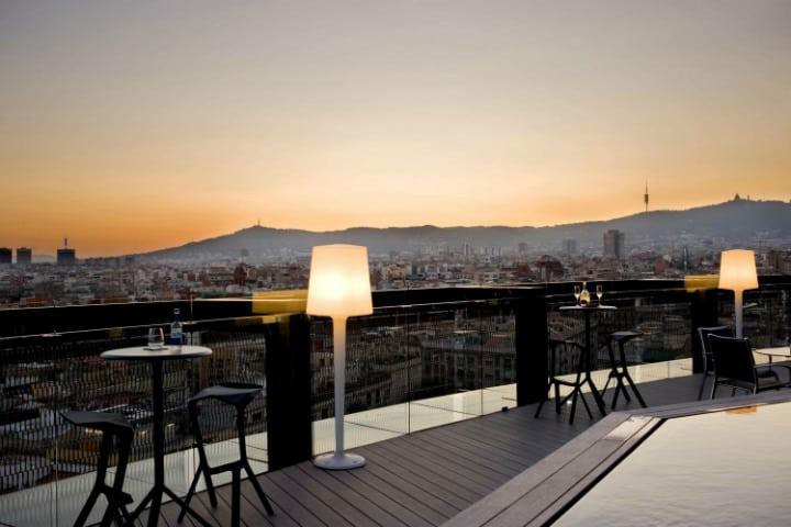 Rooftop Bars de Barcelona. Foto. Detecta Hotel. 2