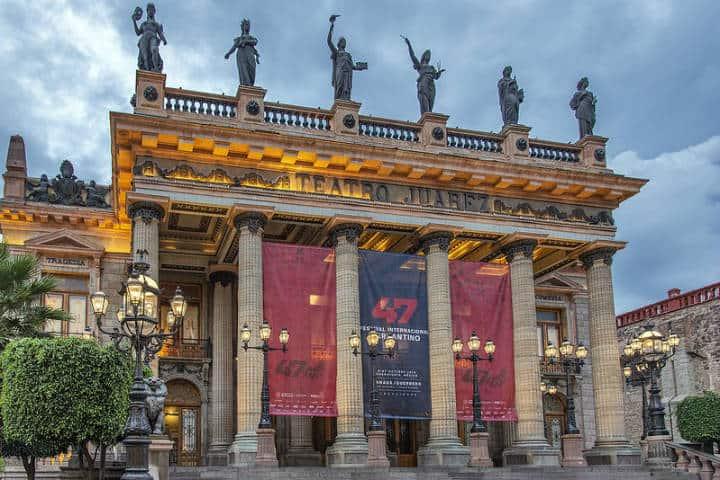 Teatro Juárez. Foto Al Case