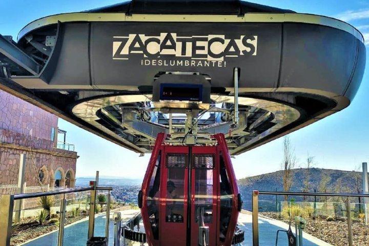 Teleférico de Zacatecas. Foto El Souvenir.