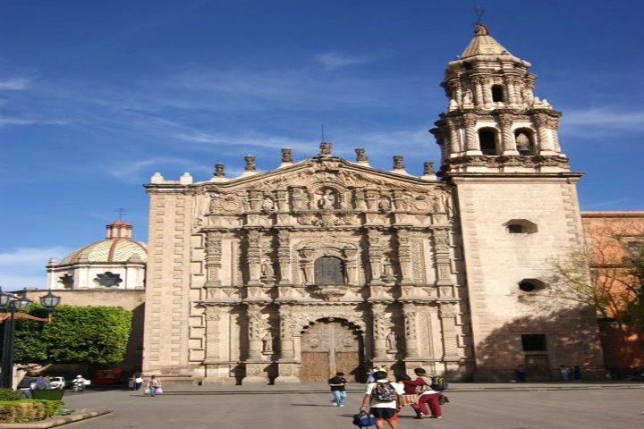 Templo de Nuestra Señora del Carmen. Foto Francisco Covarrubias Salazar.