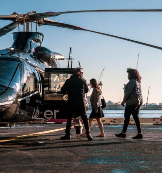 Ubercopter. Foto: Uber