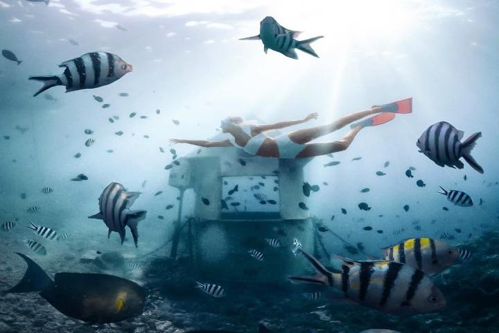 Underwater post office. Foto Camilla Hammond.