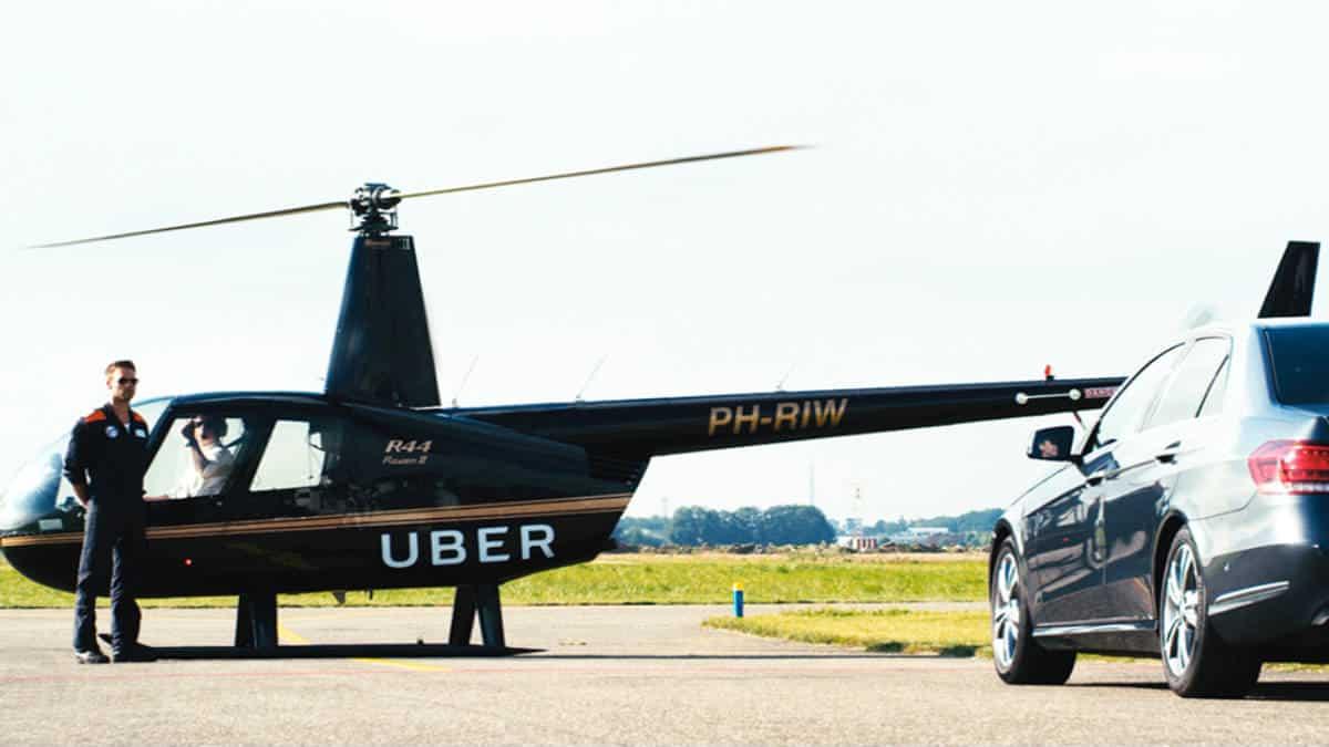 Viajar en Uber Copter. Imagen: Soon Soon Soon