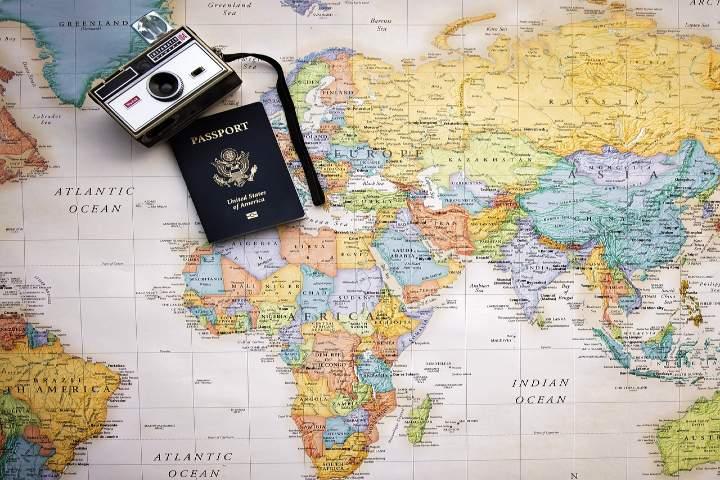 Viaje a Europa por primera vez. Foto Pam Patterson.
