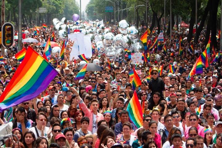World Pride NYC marcha gay. Foto Milenio