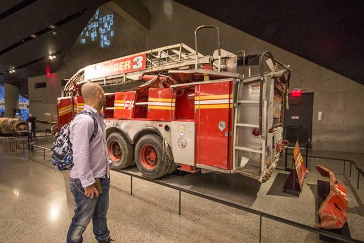camión-bombero. Imagen