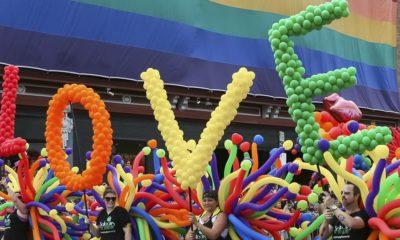 Desfile Orgullo Gay en Disney París. Foto Archivo