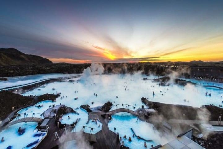 lago-azul-Islandia. Imagen