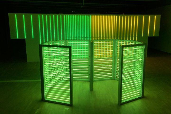 lenfer des arts Foto: Exposición Sunday en el museo Tamayo