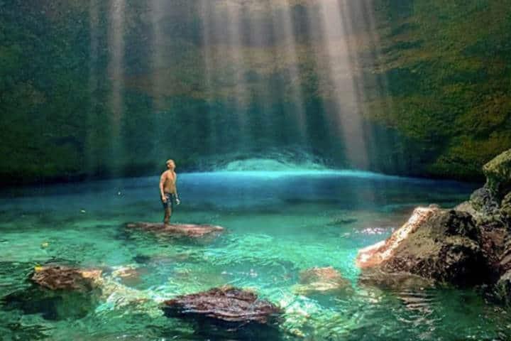 millenum cave. Foto