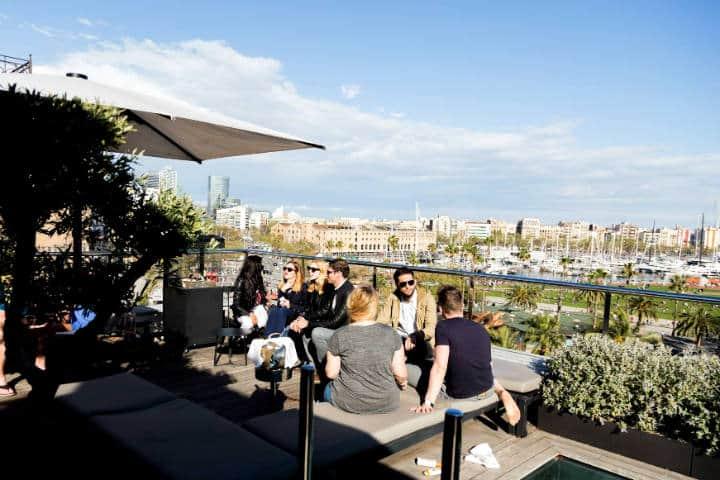 Roftop bars de Barcelona El Sueño Foto Romso Agency