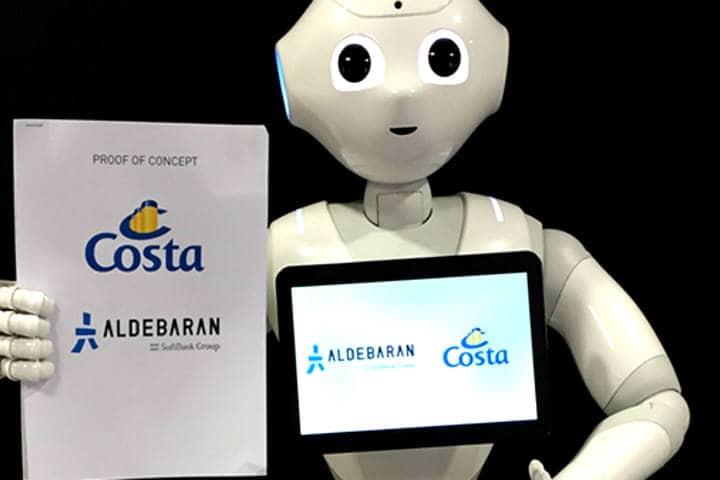 A los robots les fascina viajar Foto Costa Cruceros
