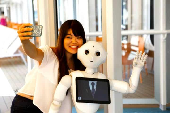 A los robots les fascina viajar Foto Cruises News