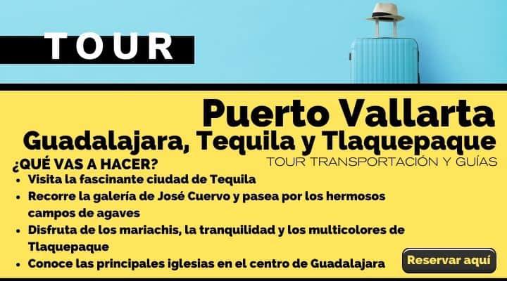 Tour Puerto Vallarta, Guadalajara, Tequila y Tlaquepaque. Arte El Souvenir