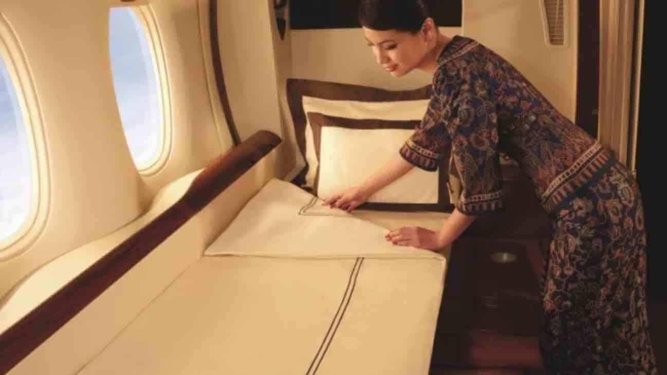 Innovacion en los asientos de avión. Foto: Cadena noticias