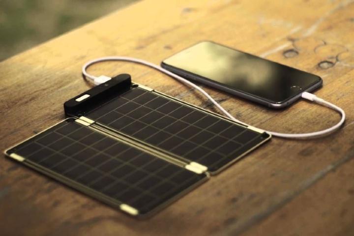 Cargador Solar. Foto: Pinterest