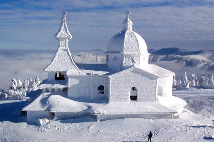 Ciudades más extremas para vivir Foto Amazing snow