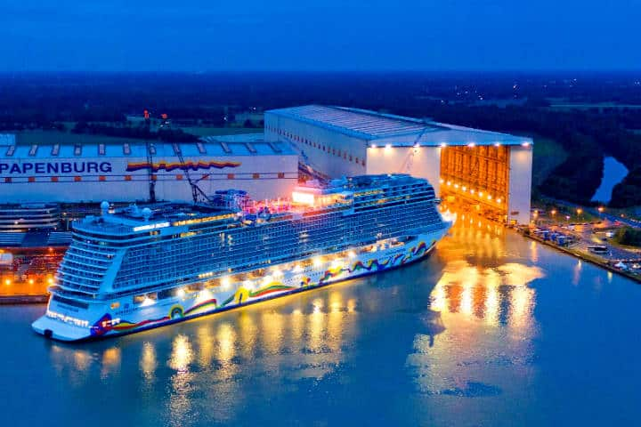Crucero Norwegian Epic Foto Portal Portuario